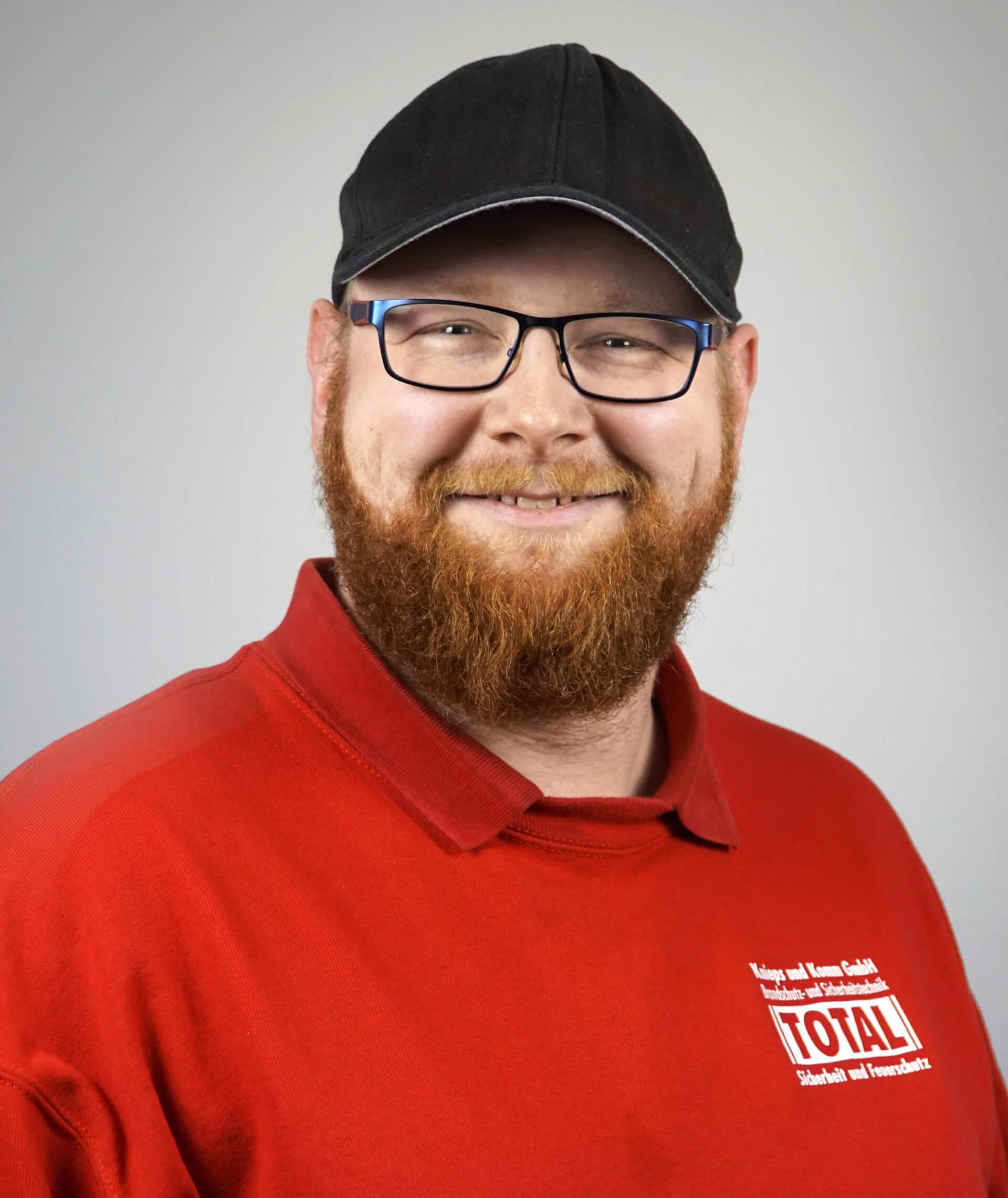 Marcel Wissing von der Knieps & Komm GmbH