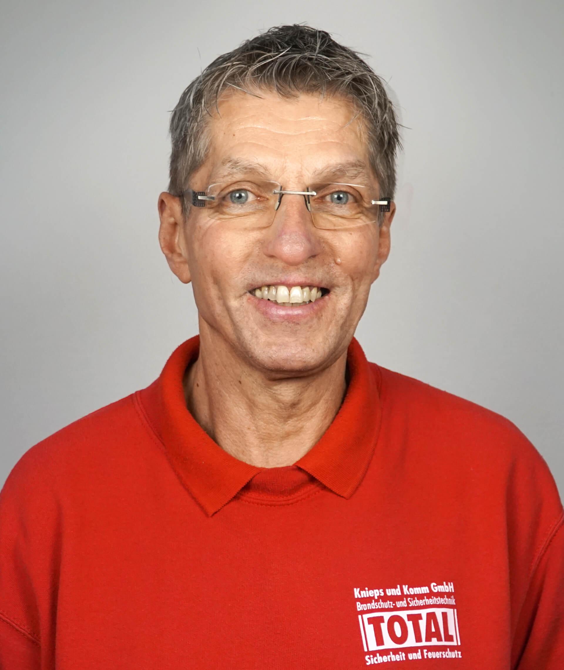 Peter Rogge von der Knieps & Komm GmbH
