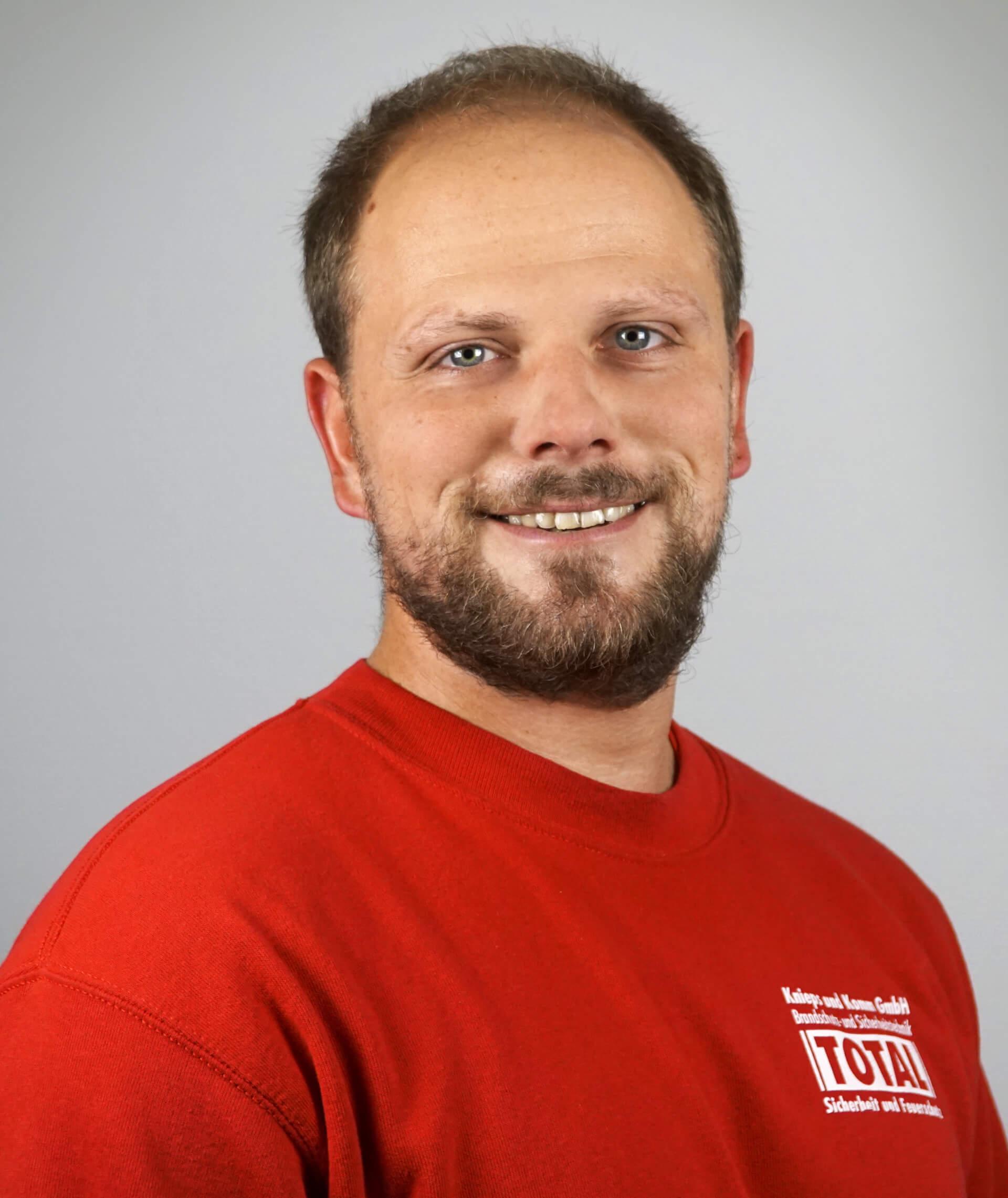 Sven Milbrodt von der Knieps & Komm GmbH